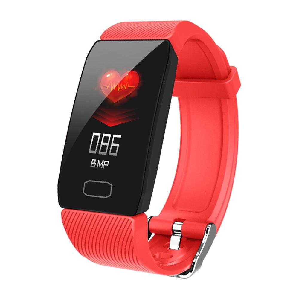 HTB19sP8abr1gK0jSZFDq6z9yVXaH Smart Band Blood Pressure Q1 Heart Rate Monitor Fitness Tracker Smart Watch Fitness Bracelet Waterproof Weather Display Women