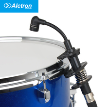 Alctron IM600 Musical Instrumental Condenser Microphone Vocal Mic System for Drum Saxophone Wind Instruments Trombone Tuba microphone for saxophone violin erhu flute gourd and other musical instruments 4 kinds of plugs for choose without power