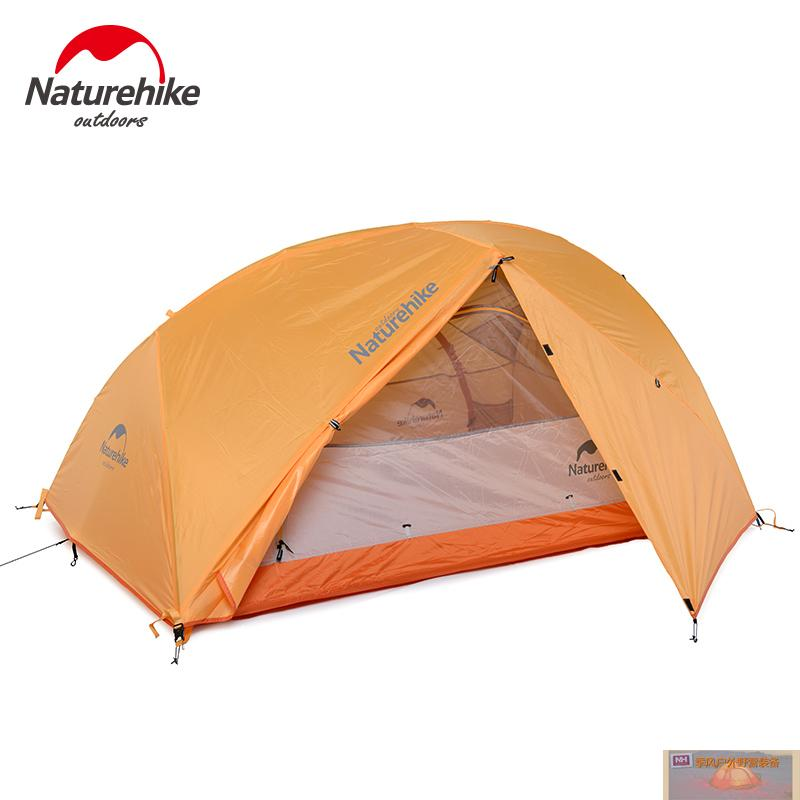 NH XINGHE2 super light outdoor tent 2 people double layers outdoor Camping Tent  rain-proof