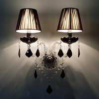 Lampada Led Modern Crystal Wall Lamp Lamparas de Pared Wall Sconce Hallway lighting Wall Lamp Lampada Led