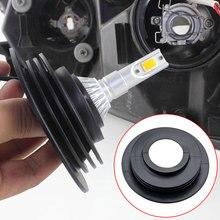 1/2 шт. Автомобильный светодиодный резиновый пылезащитный чехол для фар H1 H3 H4 H7 H8 H9 H11 светодиодный водонепроницаемый пылезащитный фонарь для мотоцикла