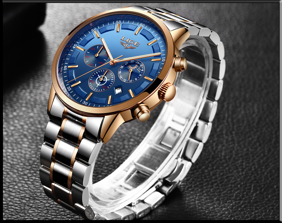 HTB19sQauY1YBuNjSszeq6yblFXaj Relojes Watch Men LIGE Fashion Sport Quartz Clock Mens Watches Top Brand Luxury Business Waterproof Watch Relogio Masculino