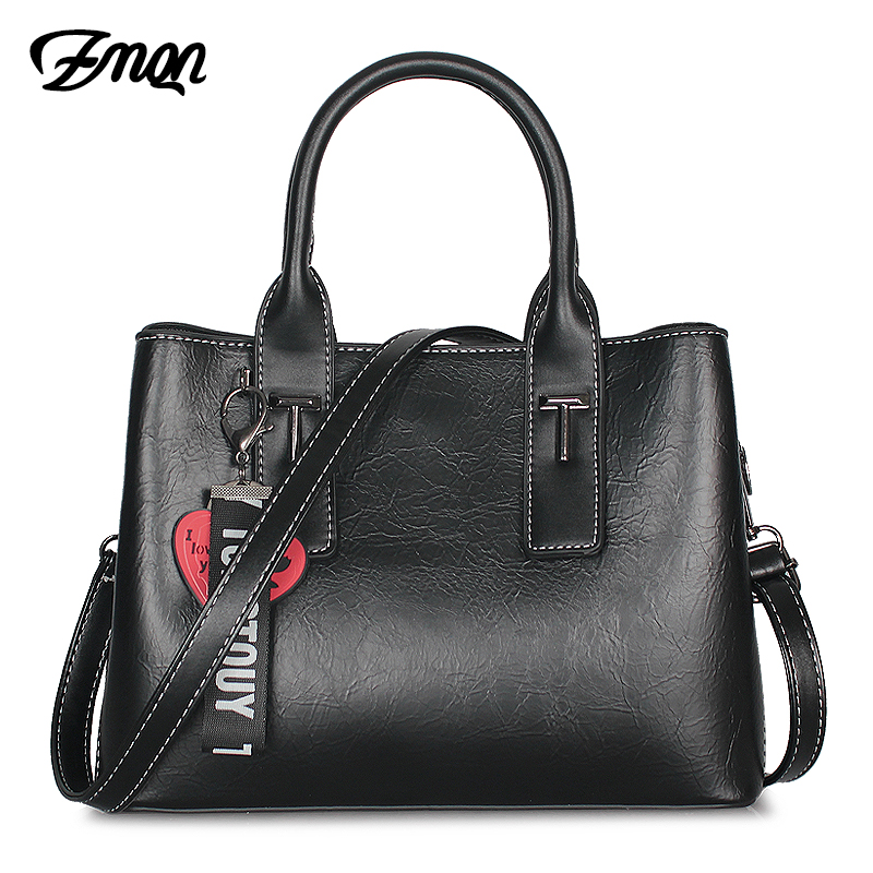 3712e98a80 ZMQN Women Hand Bag 2018 Crossbody Bag Handbags Women Famous Brands PU  Leather Luxury Bags For Women Solid Shoulder Vintage A883