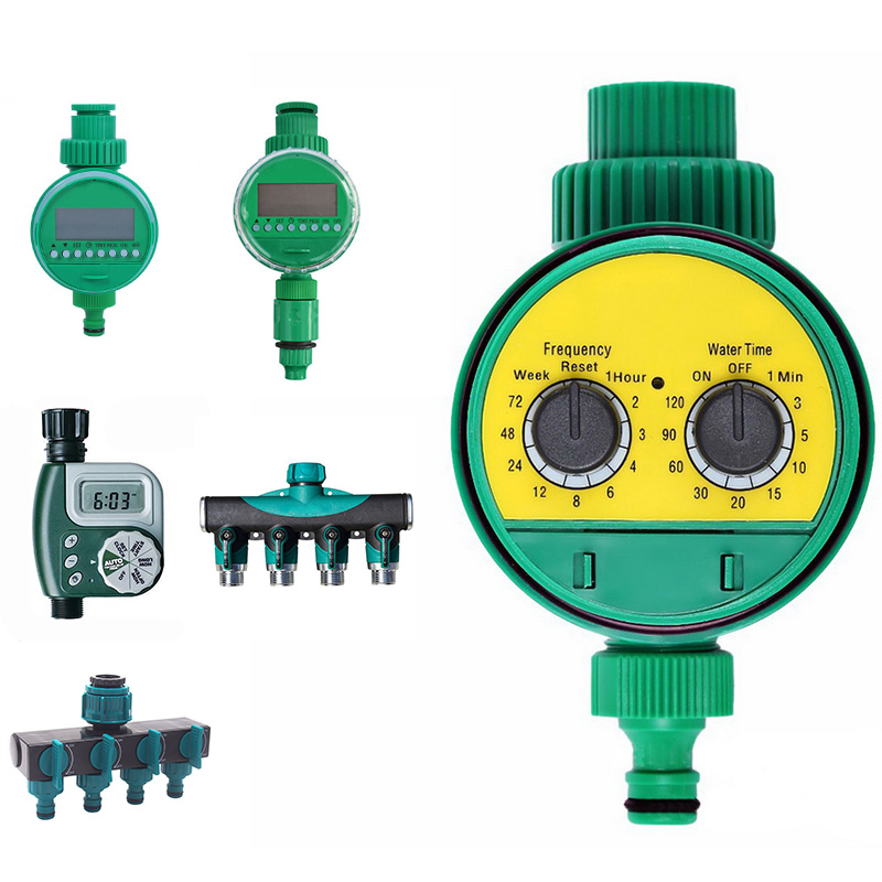 Automatic Smart Watering Timer Garden Watering System With  Electronic LCD Display Home Ball Valve  Irrigation Controller System