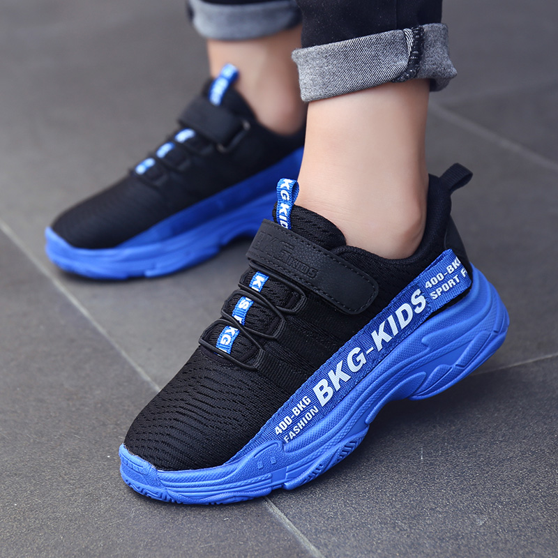 Breathable Children Shoes Soft Bottom Non slip Kids Sports Shoes 2019 Summer New Light Boys Girls Sneakers Size 28 39-in Sneakers from Mother & Kids