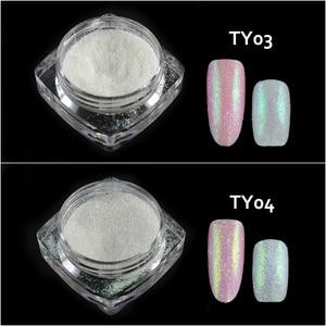 Image 4 - New Fashion 1 Bottle Shining Nail Glitter Dust Sugar Coating Effect Powder DIY Decoration Dust Nail Art Manicure Tool BETY01 05
