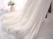 Супер мягкий длинный пушистый мех искусственный мех теплый элегантный уютный с пушистым шерпой плед для дивана кровать подарок для вашей семьи