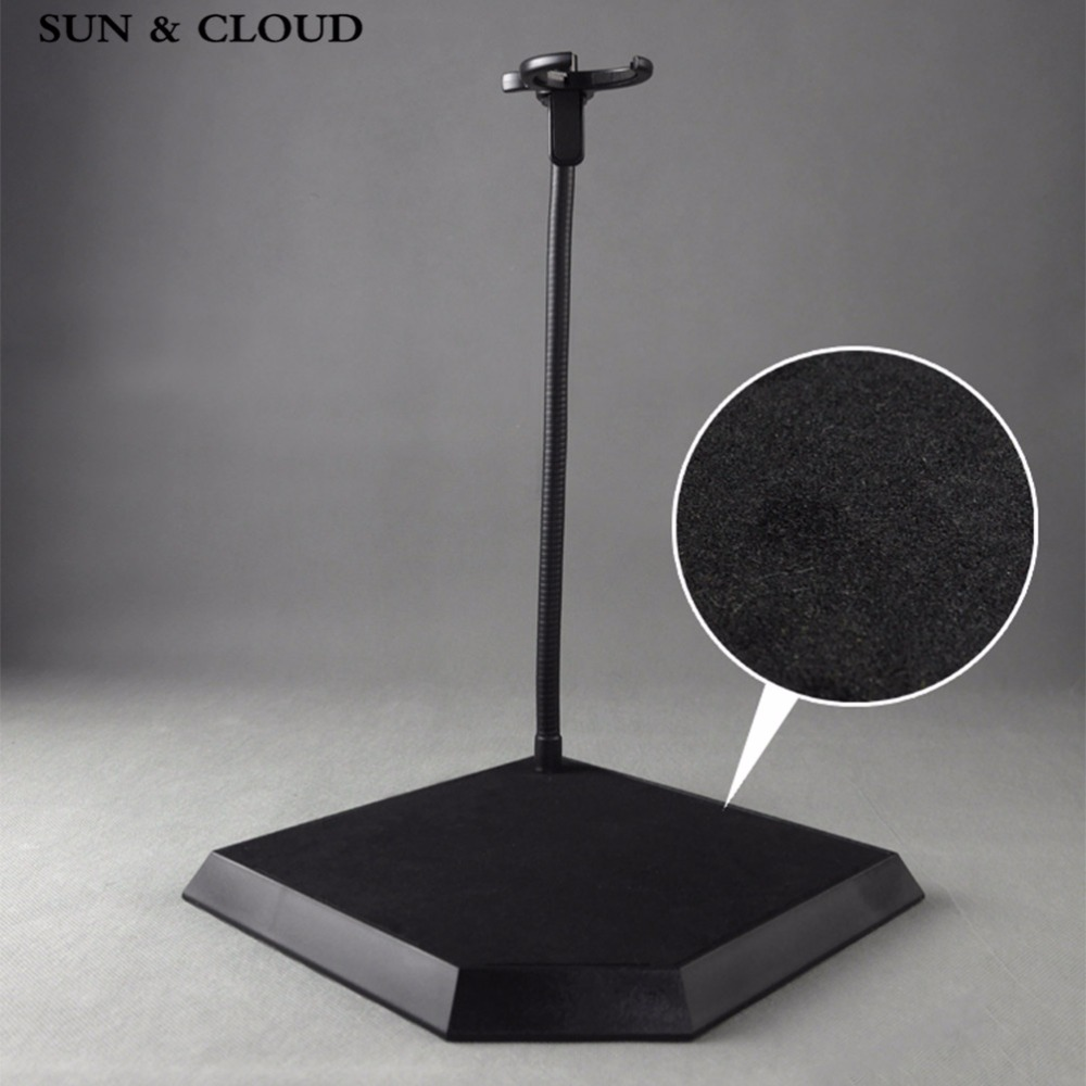 SUN & CLOUD 1:6 Scale Doll Accessories Figure Plastic Stand Bracket for 12 Action Figure Doll 1 6 scale figure doll troy greece general achilles brad pitt 12 action figures doll collectible figure plastic model toys