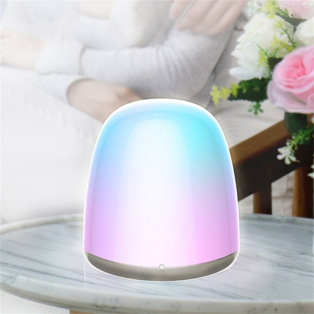 Us 12 05 24 Off Rechargeable Led Night Light Lamp Touch Control Color Changing Bedroom Small Night Light Table Lamp Kids Room Home Decor In Led