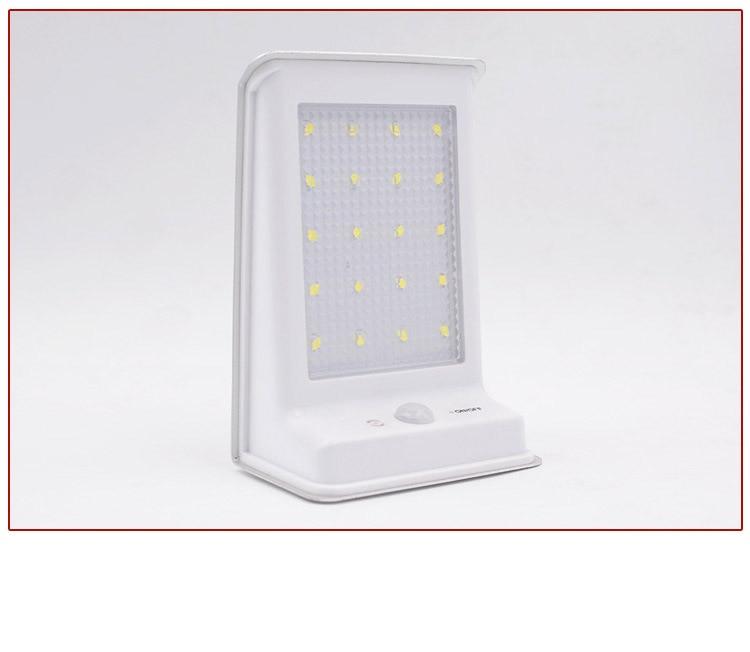 4X LED de Energia Solar Ao Ar