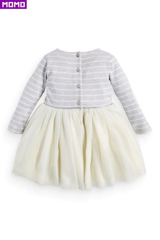 новая коллекция весна/осень девочка платье принцессы с длинным рукавом прекрасный кошка платье девушки платье для 2 ~ 7й детей