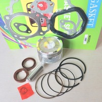 88mm Piston Rings Gasket Oil Seal Rebuild Kit For Honda GX390 188F 13HP 5kw Gasoline Generator Trimmer Engine