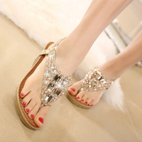 Summer Women Sandals Gladiator Bohemia Fashion Platform Wedges Beach Sandal Flip Flops Casual Shoes Sandals Women