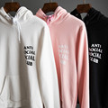 Anti Social Social Club New Fashion Men Hoodies High Quality Brand Clothing Hip-Hop 100% Cotton Harajuku Tops Suprem Sweatshirt