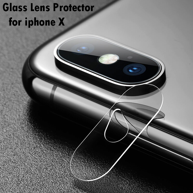 Camera Len Protector For iPhone X 0.15mm Thin Transparent Camera Len Film For iPhone X Tempered Glass