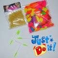 Envío libre diy magia globo 500 globos de agua + 500 o + 2 herramienta de relleno bolsa de verano juego del agua de la mezcla colores