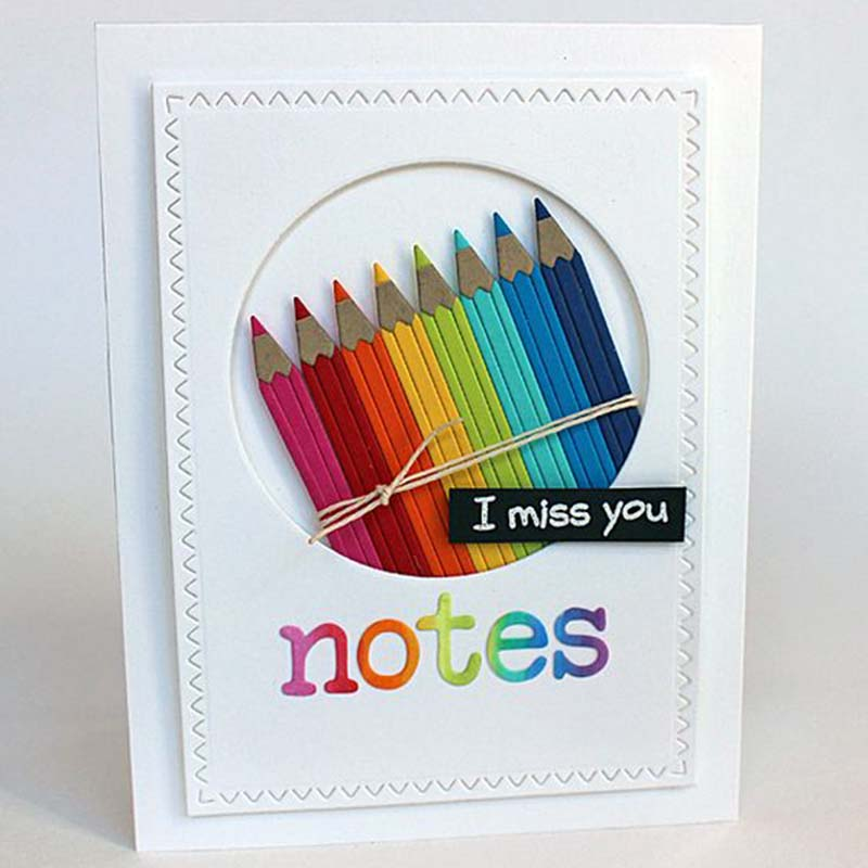 Notebook Metal Cutting Dies Stencil for DIY Scrapbooking Photo Album Embossing Paper Cards Crafts Die cuts