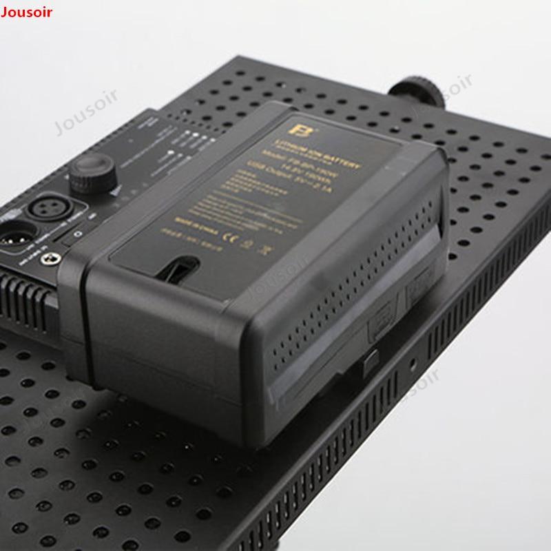 Moniteur de batterie de port de caméra professionnelle de diffusion de FB BP 190W V type baïonnette CD50 T03 - 4