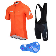 Cycling jersey ropa ciclismo/cycling clothing/maillot Bike men Summer style ciclismo Sportswear/hot/Short Sleeve/orange yellow