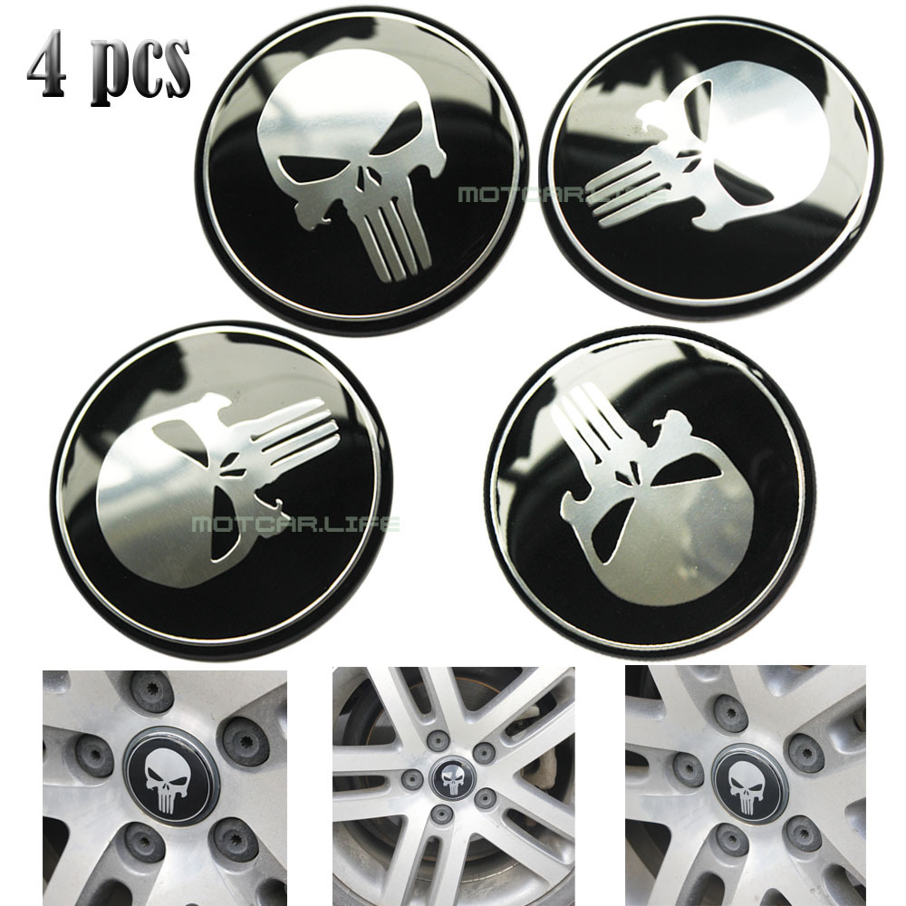 Aliexpress.com : Buy 60MM Punisher Logo Car Steering Wheel
