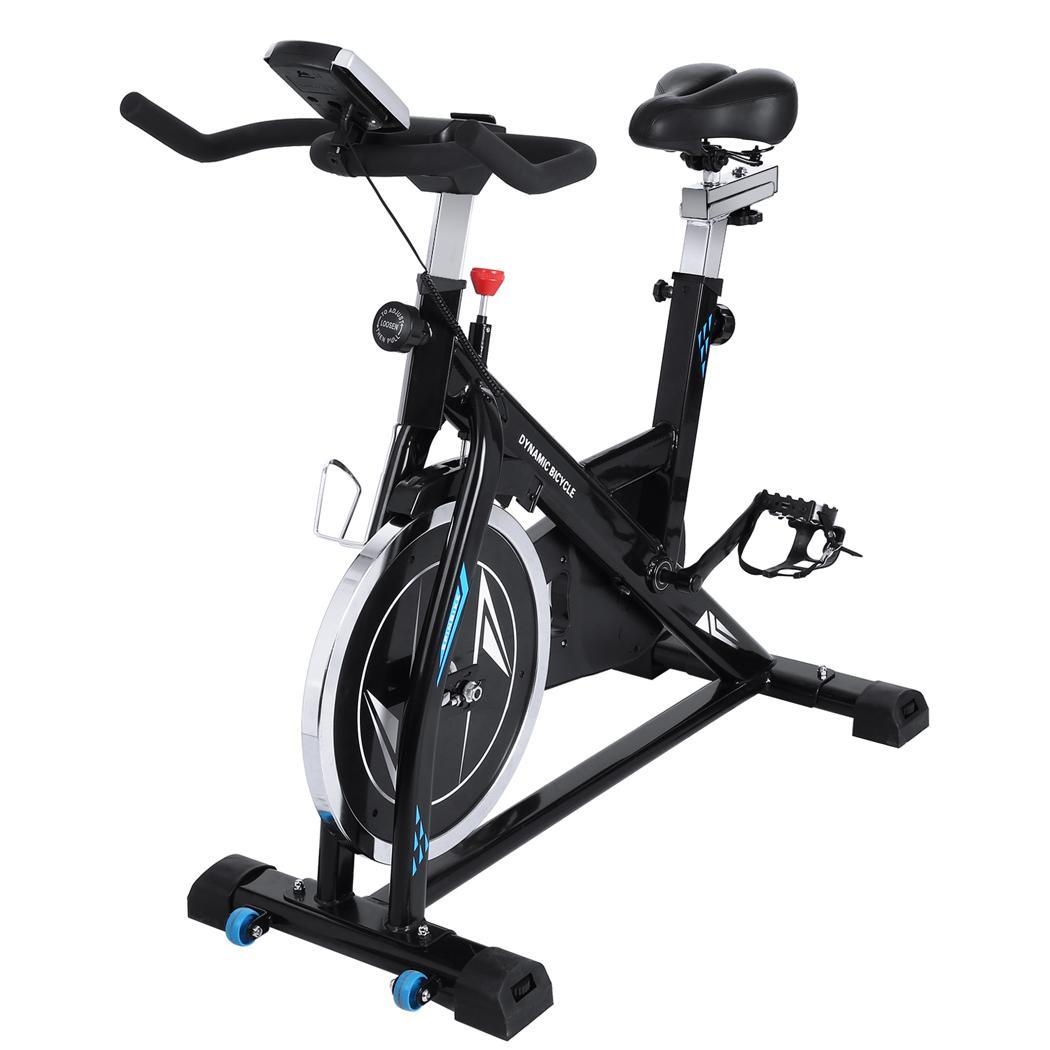 ANCHEER Exercise Bike Stationary Trainer Cycling Indoors Health Fitness Bicycle~