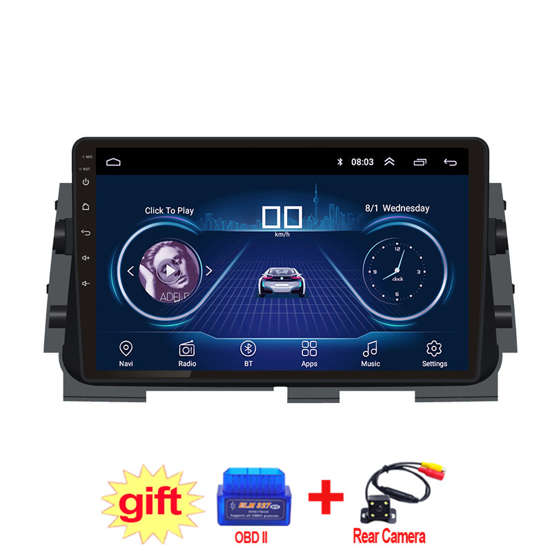 10.1inch IPS and 2.5D Touch Screen Android 8.1 Car DVD GPS Navigation for Nissan kicks 2017-2018 Radio Audio Stereo