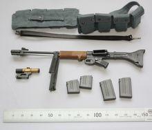 1 6 scala bambola arma Germania FG42 modello di pistola per 12