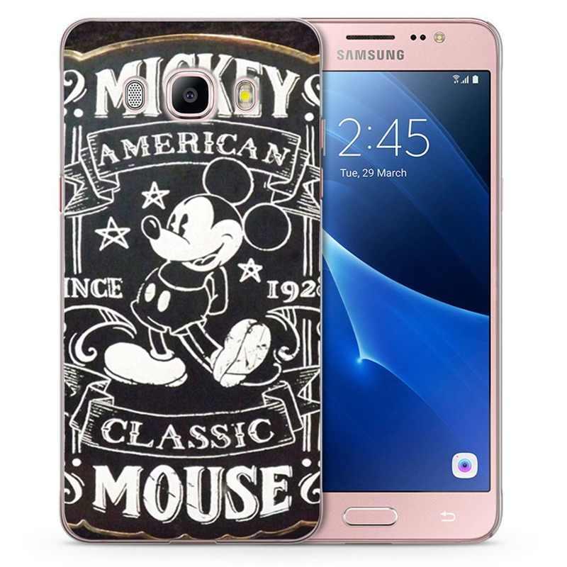 Для Samsung Galaxy A3 A5 J530F 2015 2017 J1 J2 prime J3 J5 J7 G530H S8/plus Note 8 ТПУ Мягкий противоударный пейзаж с цветочным рисунком из ТПУ C807