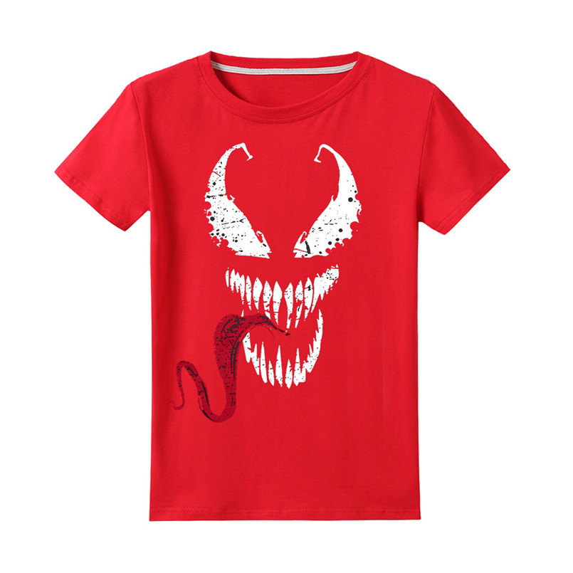 Cool Ve-Nom Kids T-Shirts Long Sleeve Tees Fashion Tops for Boys//Girls