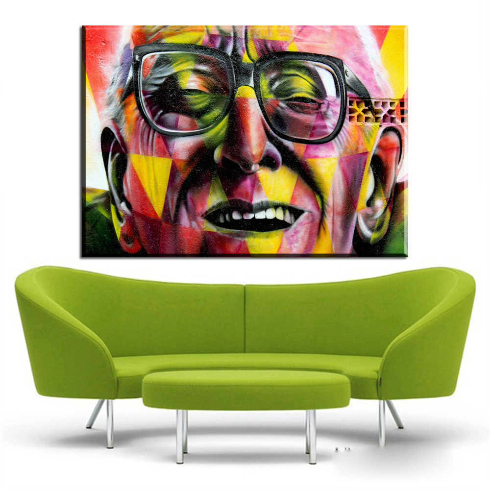 Graffiti art sale - Xh969 Hot Sale Graffiti Street Art Canvas Prints Paintings Wall Decor Art Unframed China