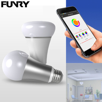 FUNRY WIFI Smart Light Bulb Remote Control Light Bulb Led Dimmable Color Changing Light Bulb WIFI