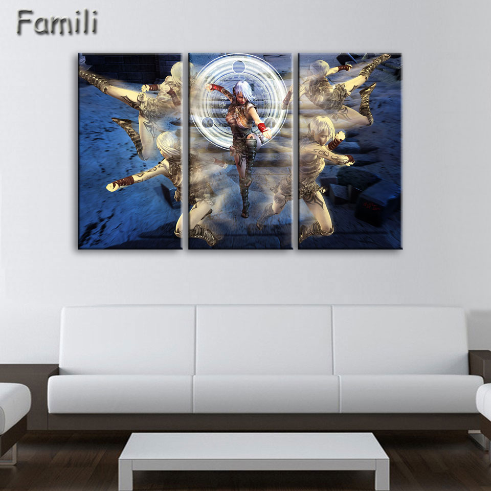 online get cheap 3 piece canvas art games aliexpress com custom prints tristram town diablo game poster canvas wall decor modern painting vintage wall canvas art for bedroom 3 piece