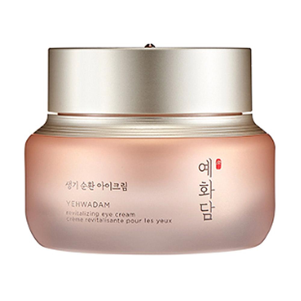 Korean Cosmetics Yehwadam Revitalizing Eye Cream 25ml Ageless Moisture Dark Circles Anti Puffiness