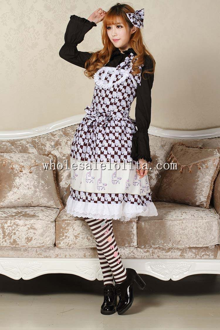 Robe Lolita douce manège violet