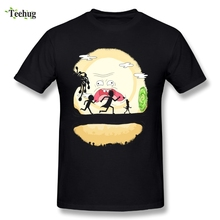 Custom Man Rick And Morty T-Shirt Round Neck Design Fashion Cartoon T Shirt