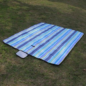 Image 4 - Picnic mat moisture proof mat portable outdoor reinforced picnic cloth spring outing picnic beach field lawn mat1.5*1.8m