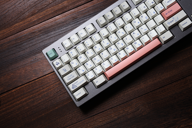 Egyptian 9009 colorway cherry profile Dye Sub Keycap Set thick PBT plastic  keyboard gh60 xd60 xd84 tada68 rs96 zz96 87 104 660