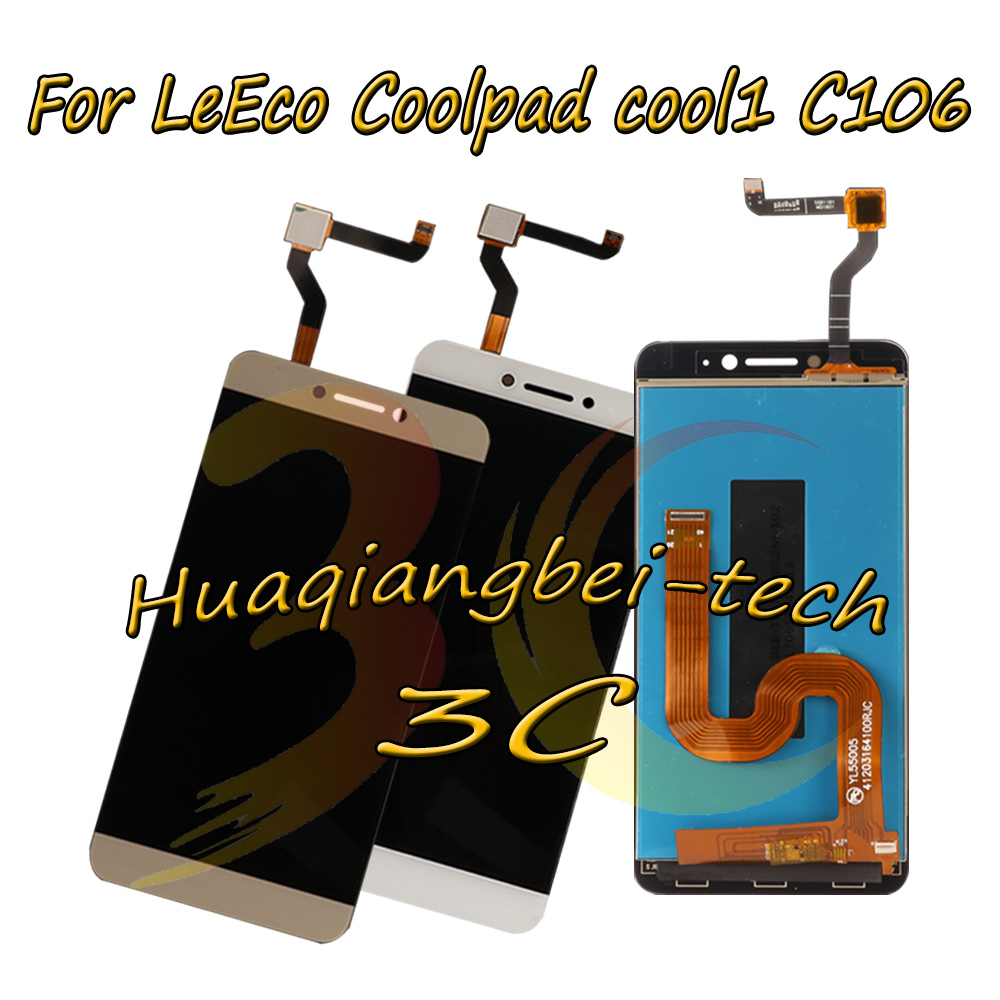 New 5.5'' For LeTV LeEco Coolpad Cool1 Cool 1 C106 C106-7 C106-9 C103 R116 Full LCD DIsplay + Touch Screen Digitizer Assembly