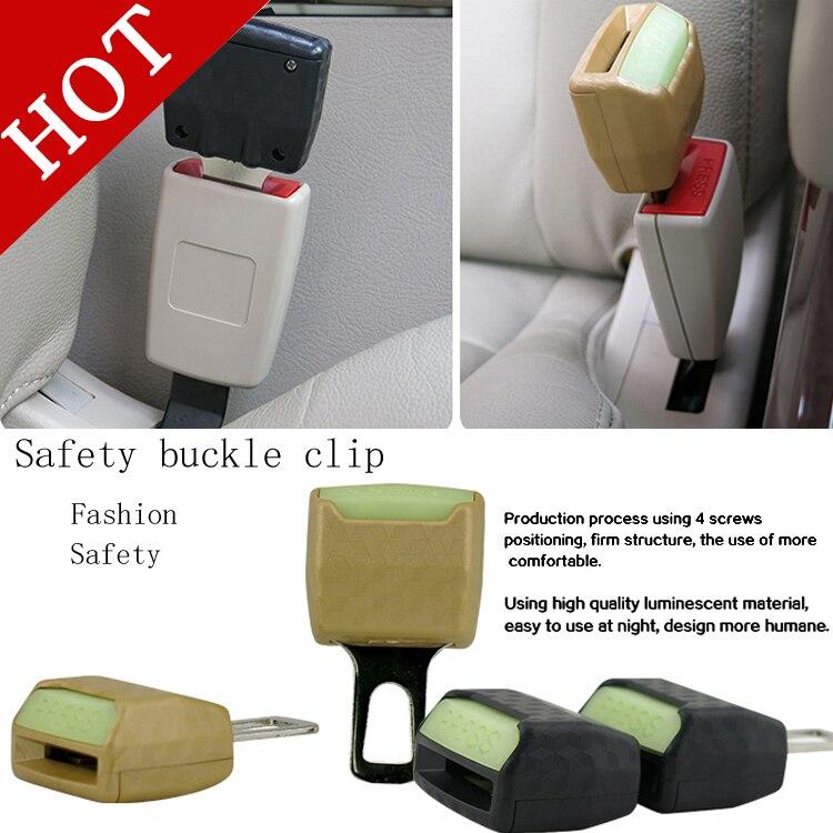 Alta calidad del envío libre 2 unids / lote clip de cinturón de - Accesorios de interior de coche