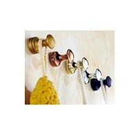 2016 New Arrival High Quality Brass Wall Hanger Rack Coat Hooks Decorative Wall Hook Racks Kitchen