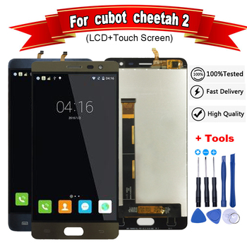 Cubot Cheetah 2 LCD e Touch Screen Digitizer Assembly Android 6.0 per Cheetah 2 lcd