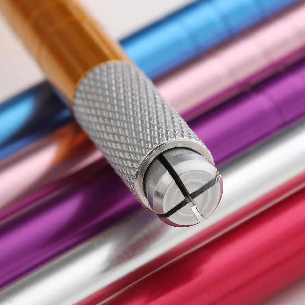 1 шт. профессиональный макияж для бровей Татуировка ручная вышивка бровей ручка микроблейдинг ручной 3D для тату бодиарта инструмент
