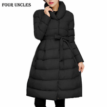 2016 Winter Down Jacket Women Long Coat Parkas Jackets Female Warm Clothes High Quality Purple Overcoat Plus size,MM0058