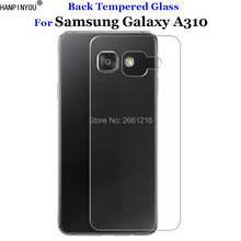 For Samsung A3 2016 Back Rear Tempered Glass 9H 2.5D Premium