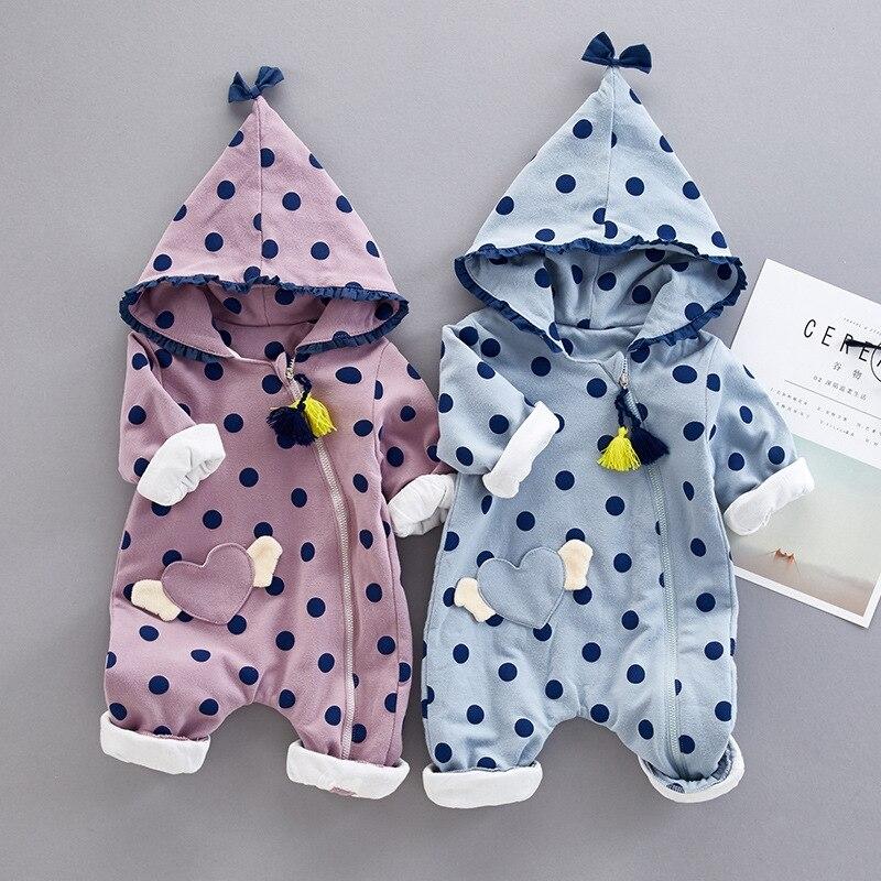 newborn spring autumn bebe romper long sleeve set children clothing cotton Jumpsui suit 3-12M baby boy girls clothes outerwear