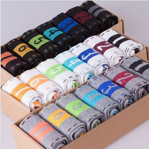 7 Pairs Men's Casual Cotton 7 Days 1 Week Comfortable Daily Ankle Socks