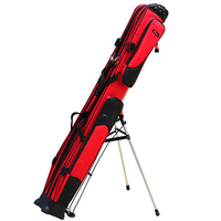New WalDing waterproof scratch proof Fishing Rod Bag 1.25M two Or Three Layers self trestled high capacity