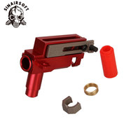Hot High Precision Skirmish CNC 7075 Aluminum AK Hop Up Chamber Fit Ver.3 AEG For Paintball shooting hunting Accessories