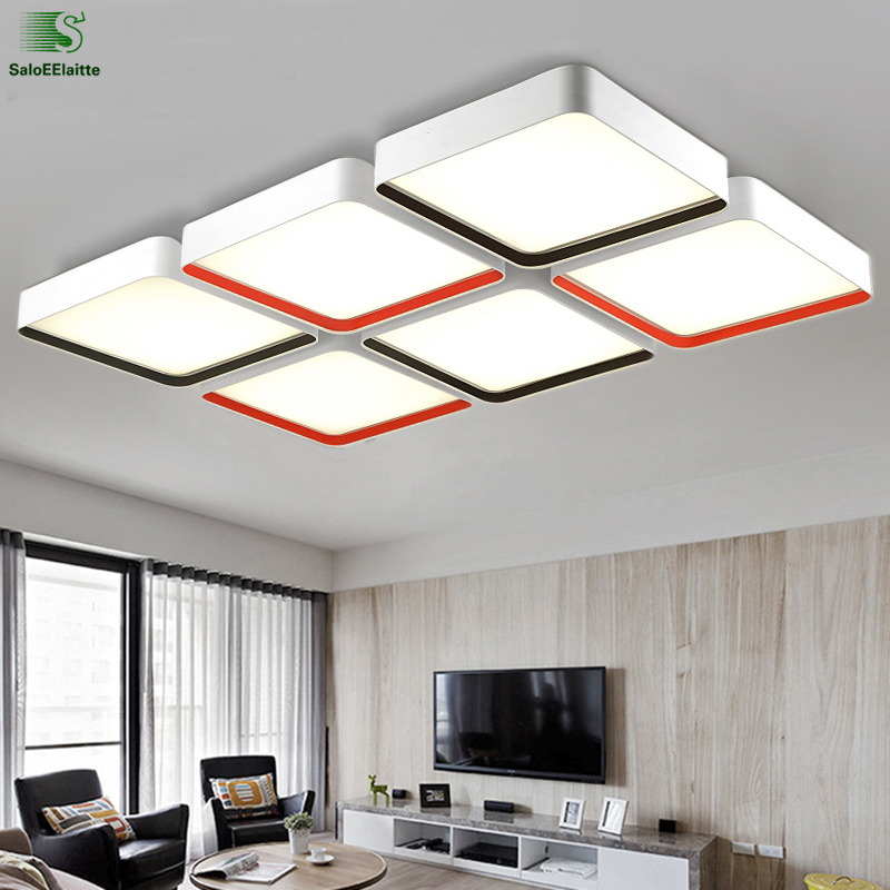 Modern Simple Metal Dimmable Led Ceiling Lights Fixtures Acrylic Bedroom Led Ceiling Lamp Luminaria Led Ceiling Light Lamparas modern simple diy metal stone led ceiling lamp luminaria acrylic bedroom led ceiling lights lamparas led ceiling light fixtures