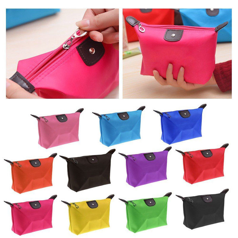 Trendy Multifunction Waterproof Cosmetic Bag Makeup Pouch Toiletry Bags Large Liner Lady Makeup Cosmetic Bag For Travaling